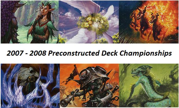 2007-08 Championships
