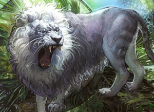 Silvercoat Lion